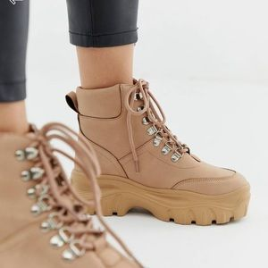 Public Desire Chunky Boots